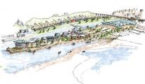 A new revised multimillion pound plan to develop land at South Quay in Hayle was announced